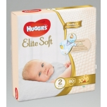 Huggies mähkmed Elite Soft 2 Mega 4-7kg 80tk